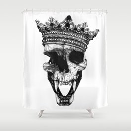 Ancients Kings : The Lion Shower Curtain
