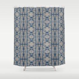 Shibori Mirror Shower Curtain