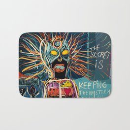 Keeping the mystery alive Bath Mat