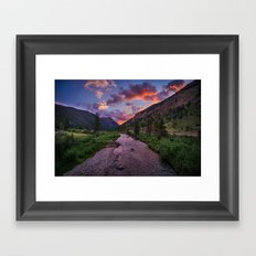 A River Runs Through It Framed Art Print