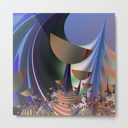 Goblet Land Metal Print