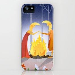 Moon Magicians iPhone Case
