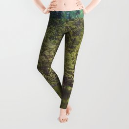 Cottage in the Forest (Color) Leggings