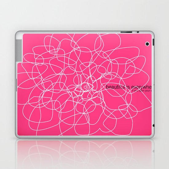 see beauty Laptop & iPad Skin