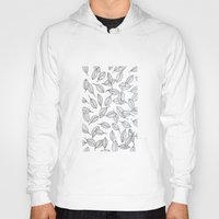 leaves Hoodies featuring Leaves by Federico Faggion