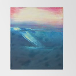 Serenity Dream 2 by Kathy Morton Stanion Throw Blanket