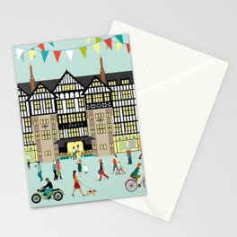 Art Print of Liberty of London Store - Daytime Stationery Cards
