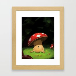 Shroomy Framed Art Print