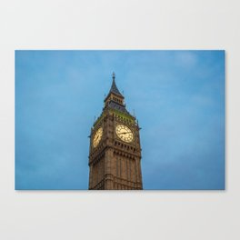 The Big Ben (London) Canvas Print