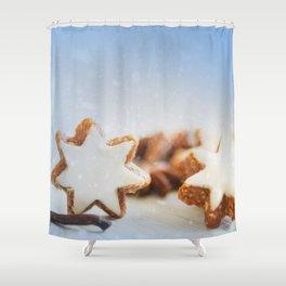 Cinnamon Stars Backery Shower Curtain