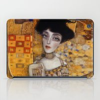 gustav klimt iPad Cases featuring klimt by Antonio Lorente