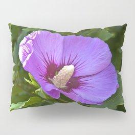 Pink Floral Impression Pillow Sham