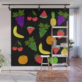 fruits pattern Wall Mural