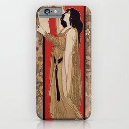 Spanish Barcelona art nouveau photographer banner ad iPhone Case