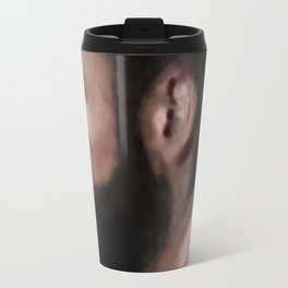 Bearded man Travel Mug