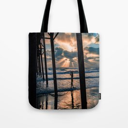 Little Surfer Girl Tote Bag