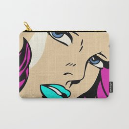 A roughly vectorised and reworked pop art Carry-All Pouch