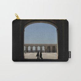 Shadows on Palacio Real - Madrid Carry-All Pouch