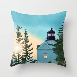 Shine the Light Throw Pillow