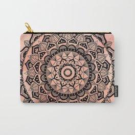 Desert Rose Mandala Carry-All Pouch