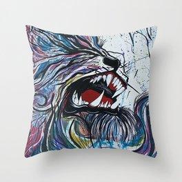 Alpha 6 Throw Pillow