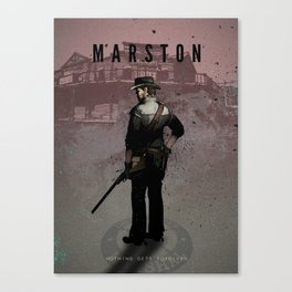 Legends of Gaming - Marston Canvas Print