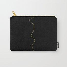 Kintsugi 1 #art #decor #buyart #japanese #gold #black #kirovair #design Carry-All Pouch