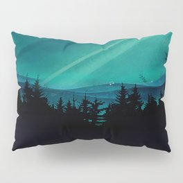 Magic in the Woods - Turquoise Pillow Sham