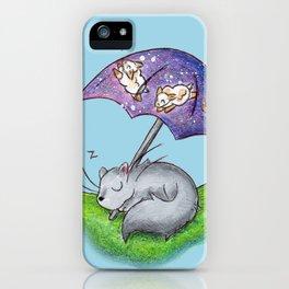 April Snooze iPhone Case