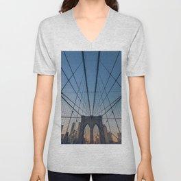 Brooklyn Mornings Unisex V-Neck
