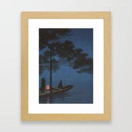 TIR-FA - Japan Print - Shubi pine at Night Framed Art Print