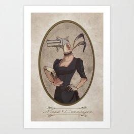 Miss Derringer Art Print