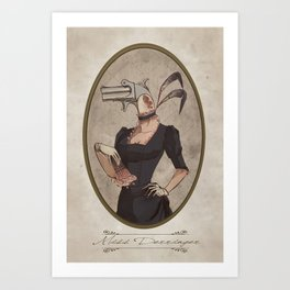 Miss Derringer Art Print
