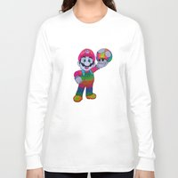 mario bros Long Sleeve T-shirts featuring Mario Bros by Luna Portnoi