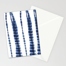 Indigo Blue Tie Dye Delight Stationery Cards