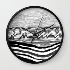 Pattern 22 Wall Clock