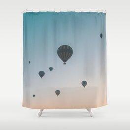 Cappadocia Sunrise Shower Curtain