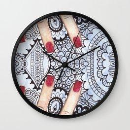 Hand of Aleia  Wall Clock