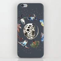 cosmic iPhone & iPod Skins featuring Cosmic by AnnaW