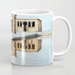 Temple of Debod in Madrid Coffee Mug