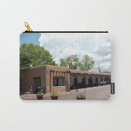 Santa Fe Old Town Square, No. 6 of 7 Carry-All Pouch