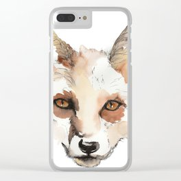 The Knowing Clear iPhone Case