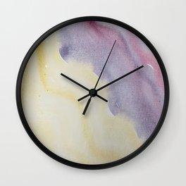 Sunlight on Lilacs Wall Clock
