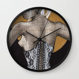 Lace II Wall Clock
