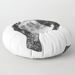 The Magic of the Universe Floor Pillow