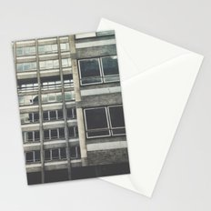 Industrial facade Stationery Cards