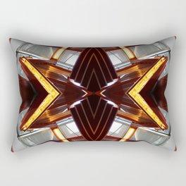 TRE 0812 - digital symmetry Rectangular Pillow