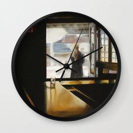 """""""SUBWAY INN"""" Wall Clock"""