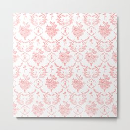 Grimm In Pink Metal Print