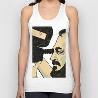 kubrick Tank Tops featuring kubrick by Le Butthead